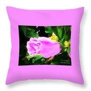 One Pretty Flower Throw Pillow