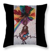 One Pulse Throw Pillow