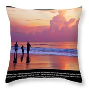 One Saved Throw Pillow