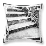 One Step Two Step  Throw Pillow