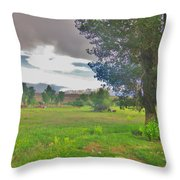 One Stormy Evening Throw Pillow