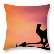 One Sunday Morning Throw Pillow