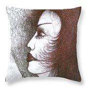 One Tear  Throw Pillow