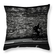 One To The Other Throw Pillow