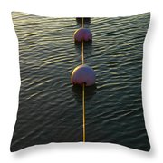 One Toke Over The Line Throw Pillow