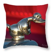 One Tough Duck Throw Pillow