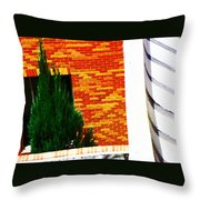 One Tree At The Hospital Throw Pillow