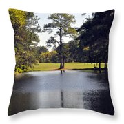 One Tree Throw Pillow