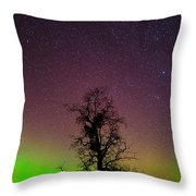 One Tree One Night On The Palouse Throw Pillow