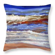 One Wave Throw Pillow