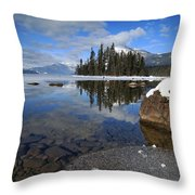 One Winters Morning Throw Pillow