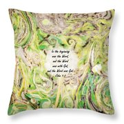 One Wish - Verse Throw Pillow