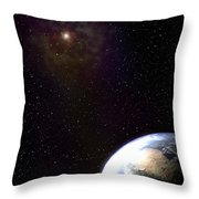 One Wonders The Watcher Throw Pillow