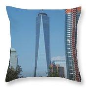 One World Trade Center 5 Throw Pillow