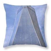 One World Trade Center New York City Throw Pillow
