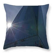 One World Trade Center New York Ny Sunset Throw Pillow
