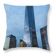 One World Trade Center Throw Pillow