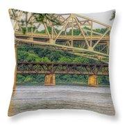 O'neil Bridge4 Throw Pillow