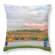O'neil Bridge5 Throw Pillow