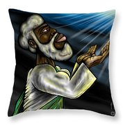 Oneness Of Christ And The Father Throw Pillow