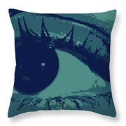 Ones Own Eye Throw Pillow