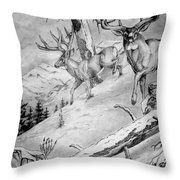 Ones That Got Away Throw Pillow