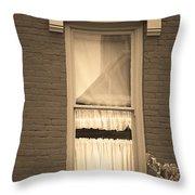 Jonesborough Tennessee - One Window Throw Pillow
