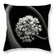 Onion Blossom Throw Pillow