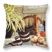 Onion Soup Tonight  Throw Pillow