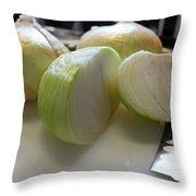 Onions I Throw Pillow