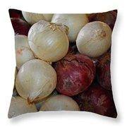 Onions IIi Throw Pillow