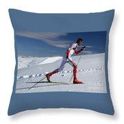 Online Winter Sports Equipment Throw Pillow