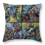 Only 4 Throw Pillow