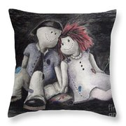Only A Moment Throw Pillow