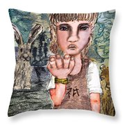 Only Throw Pillow