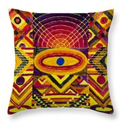 Only Habitable Planet Throw Pillow