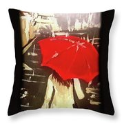 Only Me In Paris  Throw Pillow