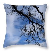 Only Once Like This Throw Pillow