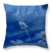 Only One Way Up Throw Pillow