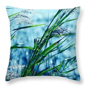 Only The Wind Knows Throw Pillow