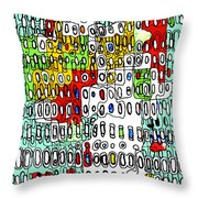 Only When I Laugh 2  Throw Pillow