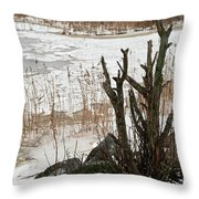 Onshore 2 Throw Pillow