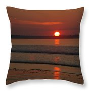 Oob Sunrise 2 Throw Pillow