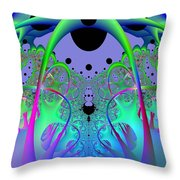 Oodle World Throw Pillow