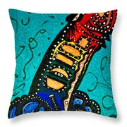 Oops I Did It Again In Rainbow  Throw Pillow