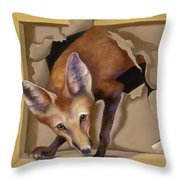 Oops I Was Looking For The Hen House Throw Pillow