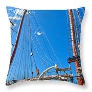 Oosterschelde In Darling Harbour Throw Pillow