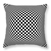 Op Art 1 Throw Pillow