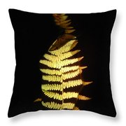 Opal Throw Pillow by Arla Patch