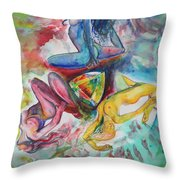 Opale Sisterhood  Throw Pillow
